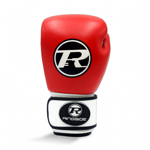 Ringside Club Boxing Gloves Red/White 14oz